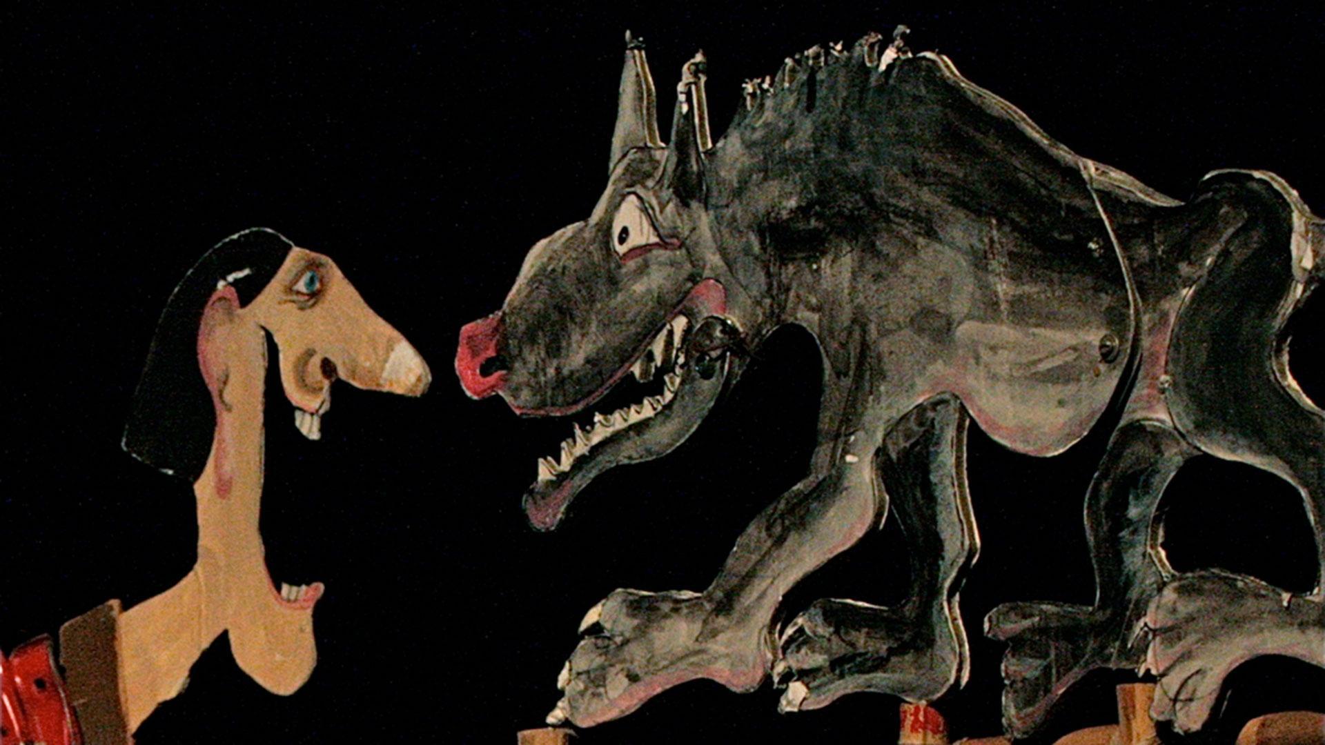 """Vorschaubild für das Stück """"Der Wolf und die sieben jungen Geißlein"""""""