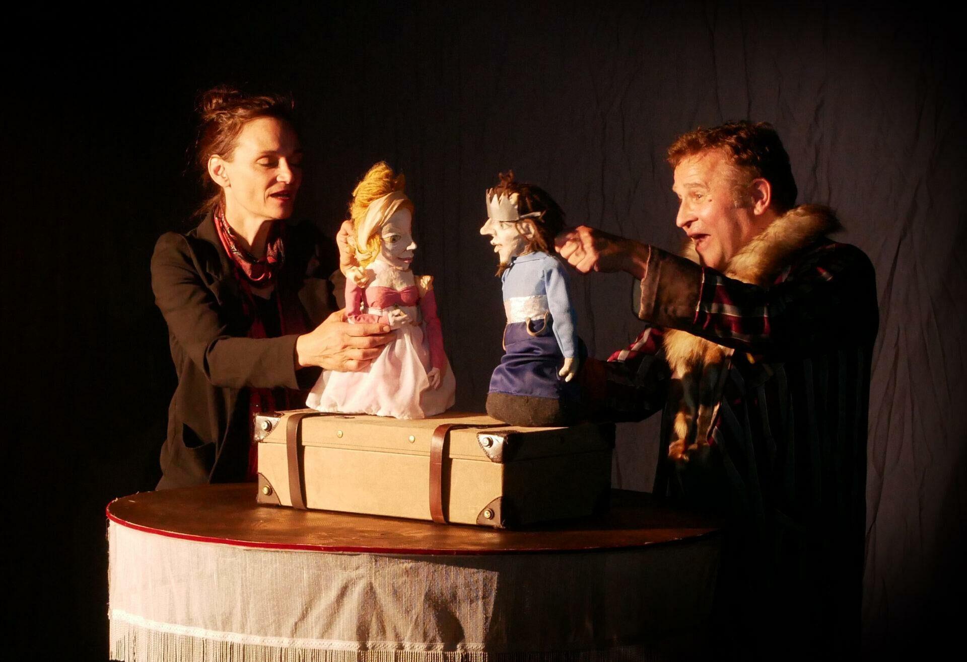 """Vorschaubild für das Stück """"König und Königin Drosselbart"""""""